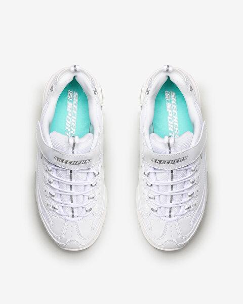 D'lites-In The Clear Büyük Kız Çocuk Beyaz Spor Ayakkabı-5