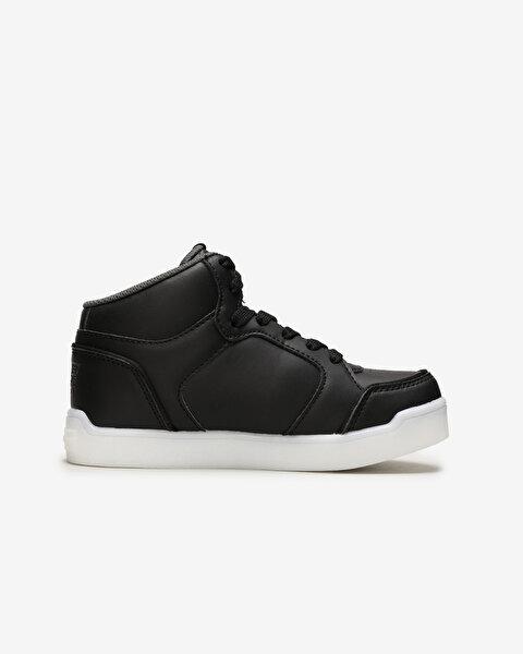 Energy Lights Büyük Erkek Çocuk Siyah Spor Ayakkabı-1
