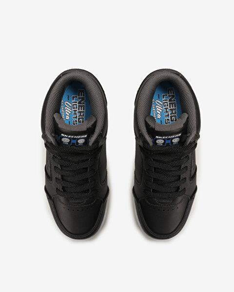 Energy Lights Büyük Erkek Çocuk Siyah Spor Ayakkabı-5