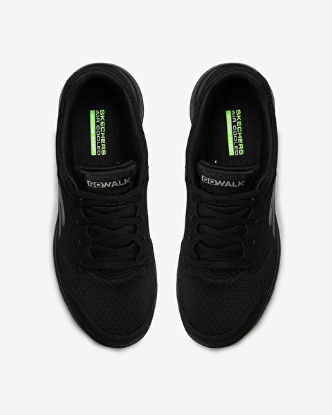 Go Walk 5 - Qualify Erkek Siyah Yürüyüş Ayakkabısı-5