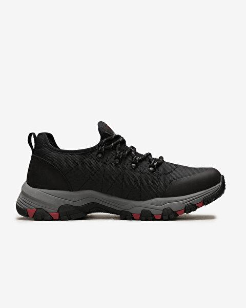 Selmen Erkek Siyah Günlük Ayakkabı-1