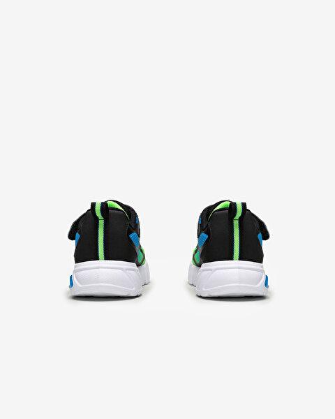 Flex-Glow-Dezlo Büyük Erkek Çocuk Siyah Spor Ayakkabı-3